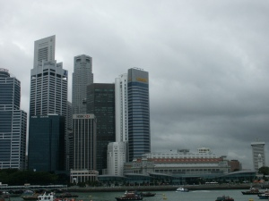 Taken from the Singapore river